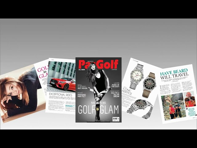 Check out the ALL New Pargolf Magazine
