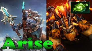 Dota 2 - Arise Plays Magnus And Earthshaker Ft singsing And s4 - Ranked Match Gameplay!