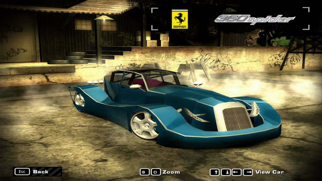 Quick and dirty tut for getting a car model into NFSMW ...
