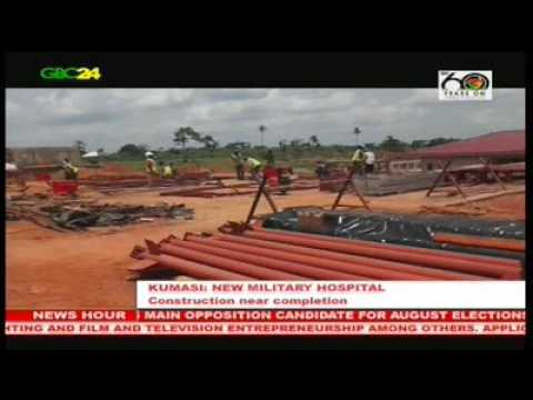 Construction works on Ghana's second military hospital nears completion