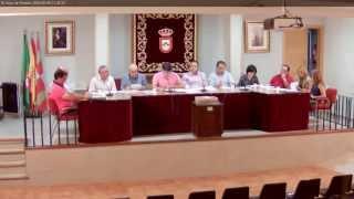El Hoyo de Pinares. Pleno ordinario Ayto. 06 Junio 2014