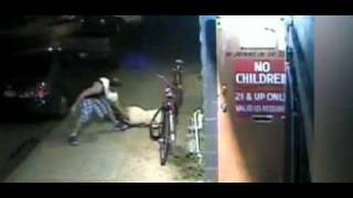 surveillance tape: Woman punched in the face and robbed