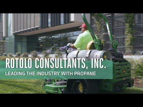 Propane Mowing Testimonial: Rotolo Consultants Inc.