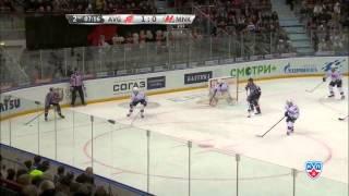 21-й и 22-й голы Широкова в сезоне / Shirokov confirms personal best KHL season