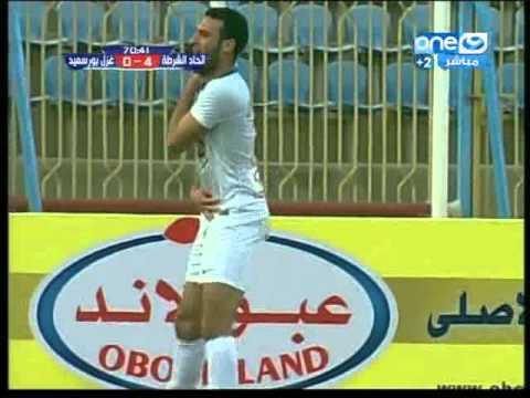 اهداف مباراة اتحاد الشرطة وغزل بورسعيد