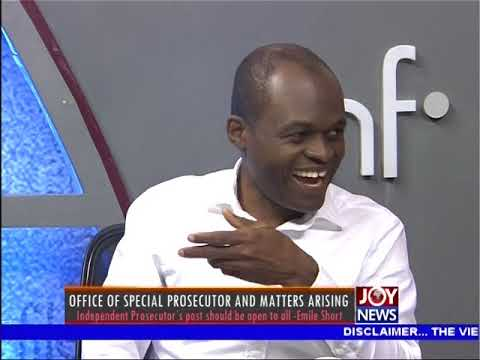 Office of Special Prosecutor and Matters Arising - Newsfile on JoyNews (6-1-18)