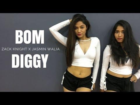Zack Knight X Jasmin Walia - Bom Diggy | Dance Cover | LiveToDance With Sonali