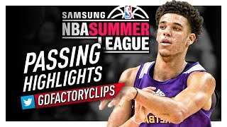 Lonzo Ball UNREAL Offense Passing Highlights (2017 Summer League) - The BEAUTY!