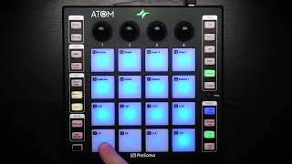Using ATOM's Pressure Only Mode to Control Ableton Live