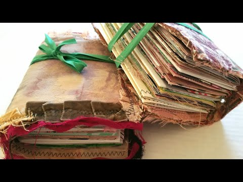 Watercolor Junk Journals - The MUSIC Vault - Episode 2 - Passing By
