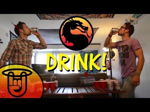 Video Game Drinking Games | Mortal Kombat Parody
