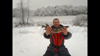 02 01 2021 На Рыбалку для души Рыбалка в Латгалии