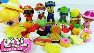 Мультик Щенячий Патруль і Ляльки ЛОЛ - Іграшки і Сюрпризи LOL SURPRISE BABY DOLL для дівчаток