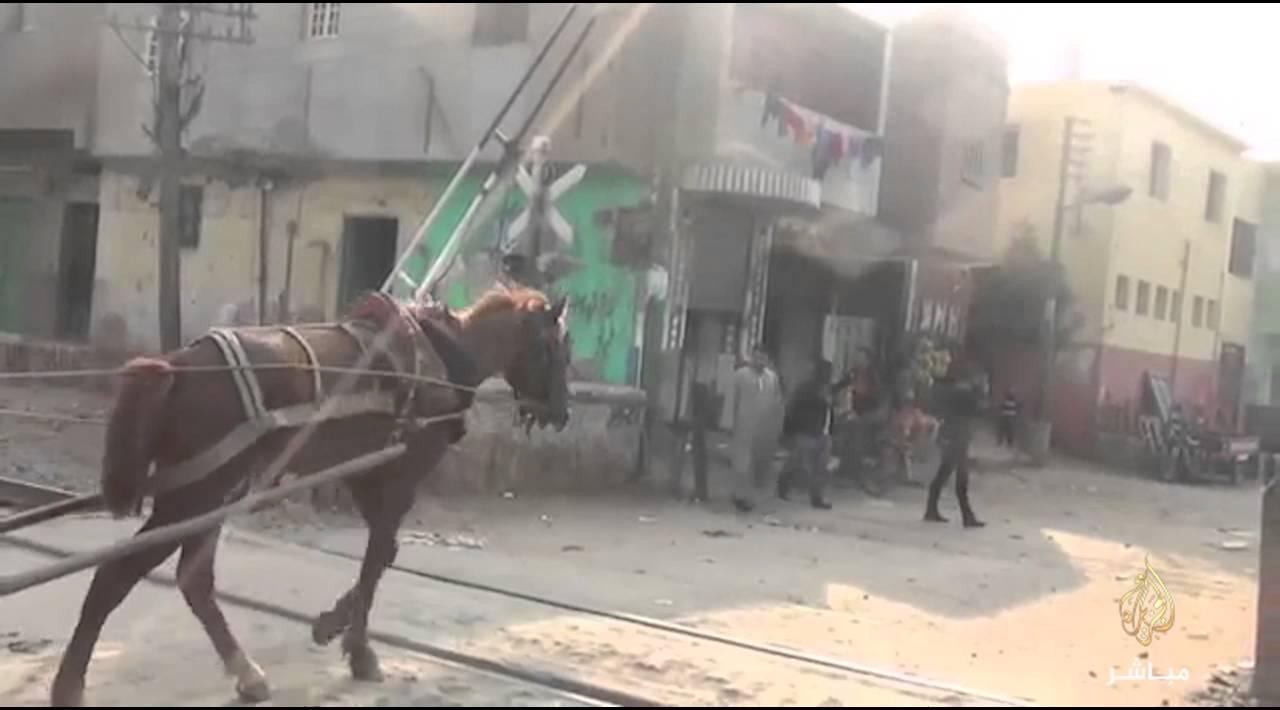 #خاص: مصرع 6 أشخاص وإصابة ٣ آخرين اثر حادث قطار العياط