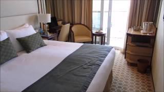 Royal Princess Balcony Cabin A708 Video Tour