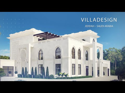 Villa Design in Jeddah, Saudi Arabia