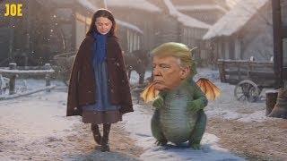 Greta Thunberg amp Donald Trump  John Lewis Christmas Advert 2019