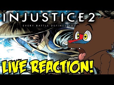 NETHERREALM IS SMART! Injustice 2 - Introducing Raiden! Gameplay Trailer LIVE REACTION! & THOUGHTS!