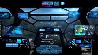 Rainmeter DreamScene - Prometheus - dual monitor HD