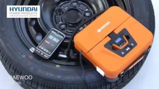 Тест автомобильного компрессора DW 40L смотреть