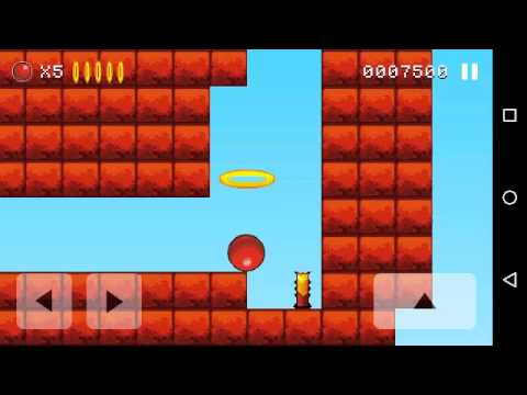 Bounce Original level 9 gameplay (Android)