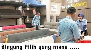 Laiqul Beli Sofa Di Transmart  , Nawar Harga ? Wkwk ~ Kursi Minimalis Dulu , Gaming Nya Ntar Deh Yaa