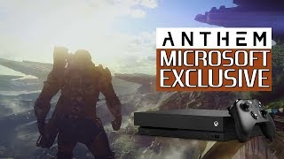 ANTHEM - TO BE MISCROSOFT EXCLUSIVE? | EA and Microsfot Rumor