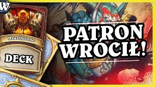 PATRON WRÓCIŁ - TEMPO PATRON WARRIOR - Hearthstone Deck Wild (Witchwood)