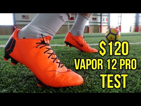 9e63b4e2d TESTING THE  120 NIKE MERCURIAL VAPOR 12 PRO  BETTER THAN THE  250 ELITE  MODEL