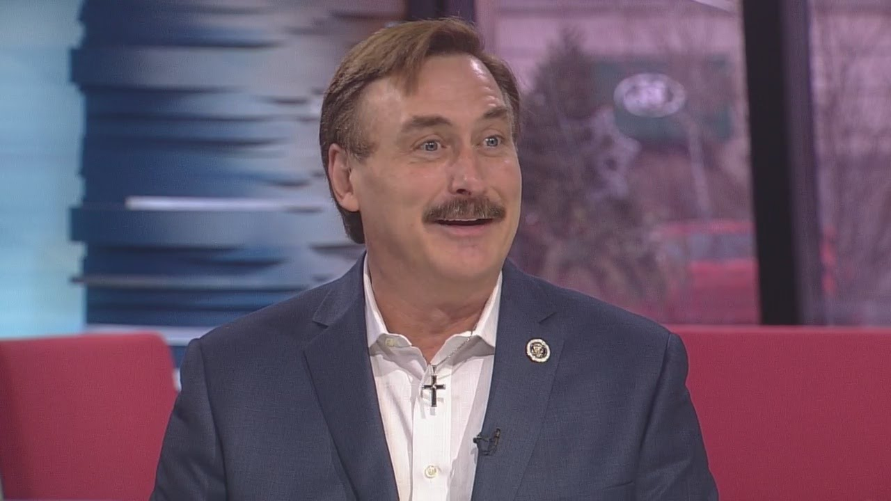 My Pillow's Mike Lindell Talks F BBB Rating, Trump - YouTube