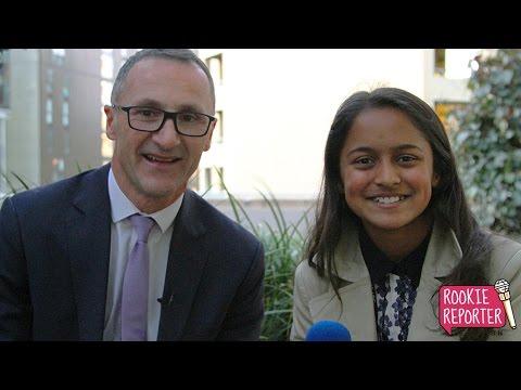 Day 6 - Maya interviews Greens leader Richard Di Natale