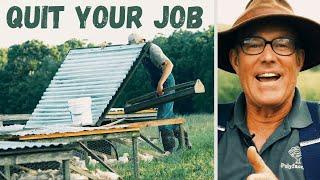 How to quit your job and start farming: Feat. Joel Salatin, Paul Grieve and David's pasture.