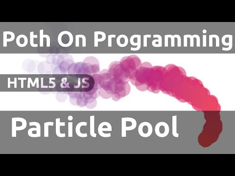 Particle Pool For JavaScript Game Engines