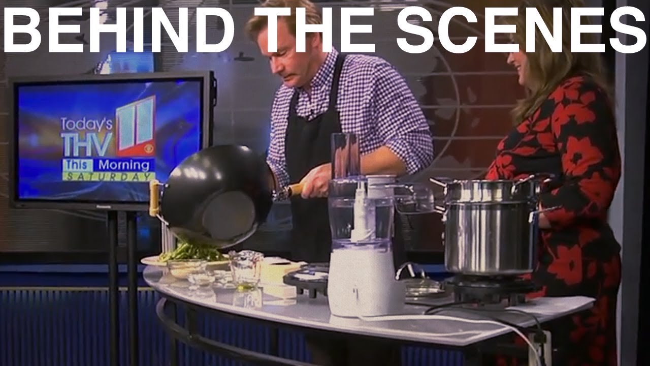 Cooking Demo on KTHV | Behind the Scenes With P. Allen Smith