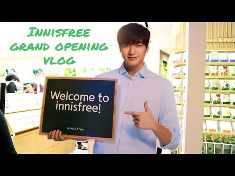 Grand Opening, Innisfree Indonesia at Central Park! | GiselaV Vlog