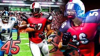 ANOTHER RIDICULOUS GAME! - Backbreaker Football Season Mode 2017 | Part 45