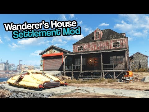 Fallout 4: Upgraded Wanderer's House (Mod) thumbnail