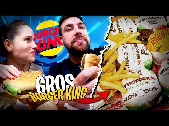 Burger King gratuit ?! On le dévalise avec Pidi...