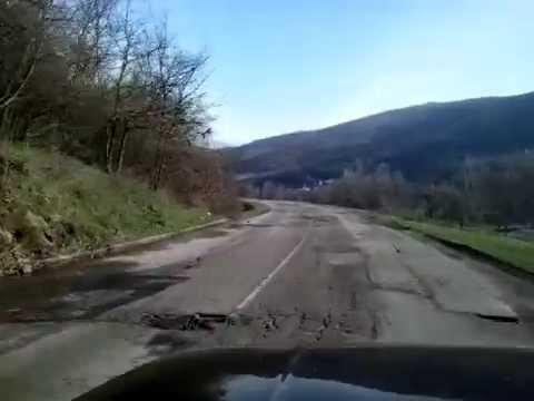 Magistralni put Niš-Priština od Kuršumlije prema Merdaru