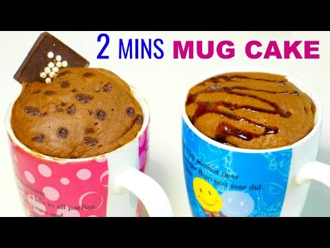2 MINS मैं बनायें Yummy EGGLESS MUG CAKE | Children's Day Special | CookWithNisha