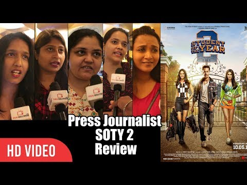 Student Of The Year 2 Review | Journalist Disappointed Review | Tiger Shroff, Ananya Pandey, Tara