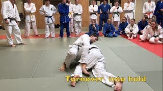 Elbow in back turnover hold           by Ivica Pavlinic