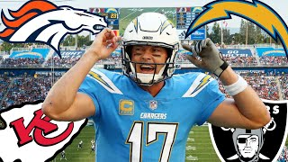 AFC West 2019 Record Predictions!
