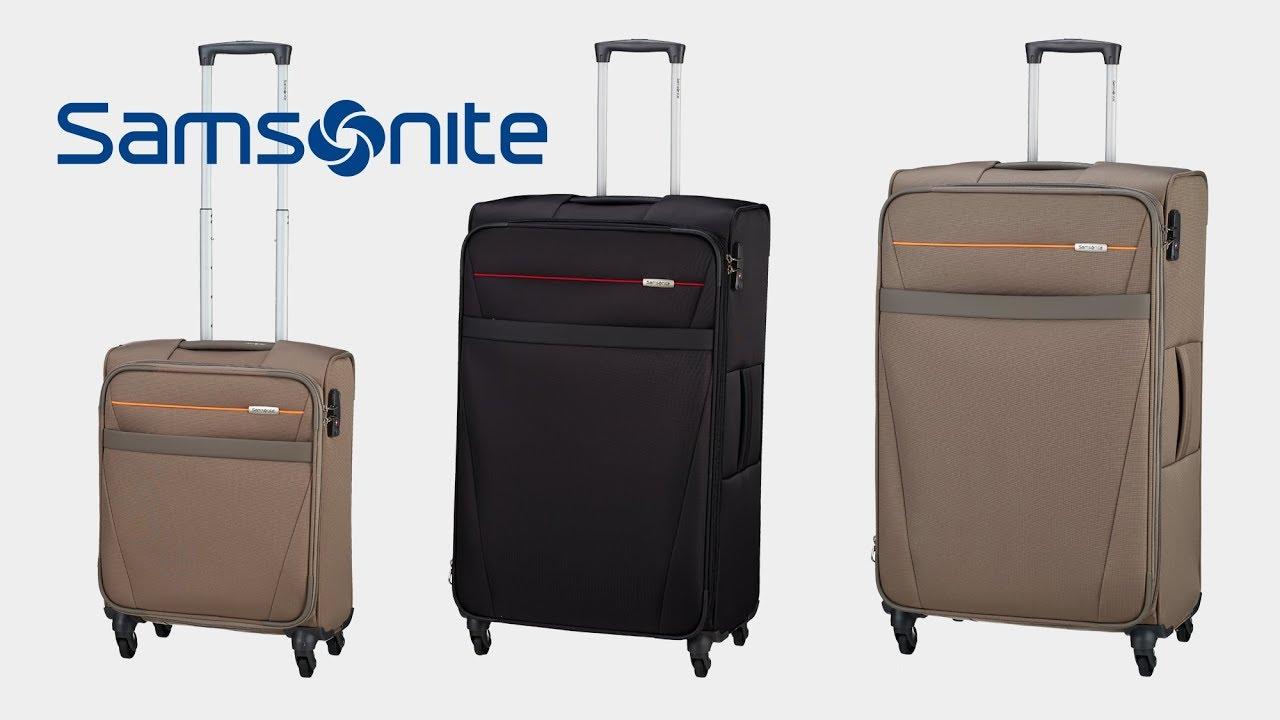 d84950ce084 Samsonite - NCS Auva 4-Rollen-Trolley | koffer-direkt.de - YouTube