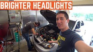 LED HEADLIGHT Install On Zack's Subaru WRX thumbnail
