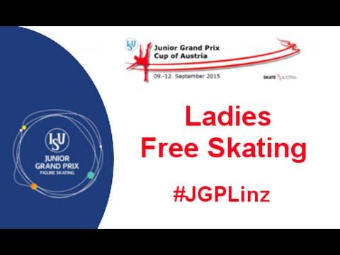 2015 ISU Jr. Grand Prix - Linz Ladies Free Skate