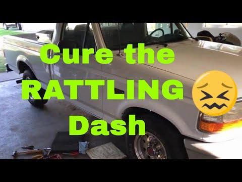 Ford F-Series/Bronco Broken Dash Tab Repair 1992-1996 -7