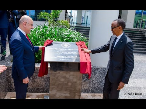 President Kagame inaugurates new Carnegie Mellon University - Africa new Campus