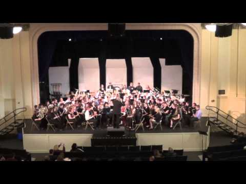 Sea Songs - Morehead State University 55th Annual Concert Band Clinic - Willis Rapp Band