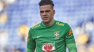 Alisson Becker and Ederson Moraes ⚫ Training of goalkeepers of the Brazilian Soccer team - 2019.